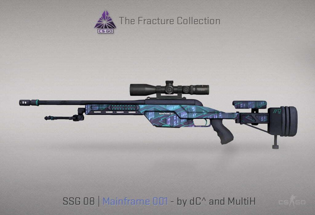 SSG 08 | Mainframe 001 (Mil-spec)