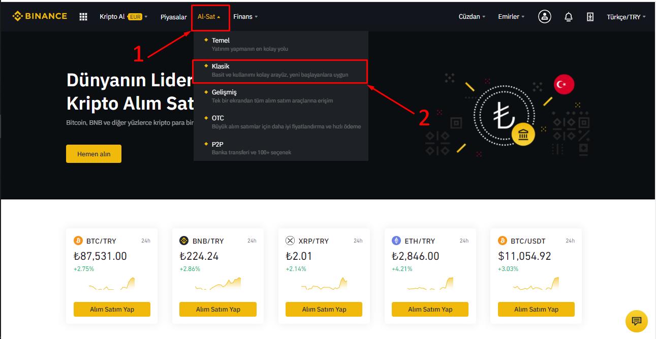 Bitcoin Nasıl Alınır? Al-Sat